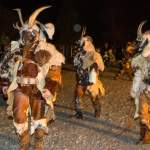 Krampus-Perchten in Wagrain