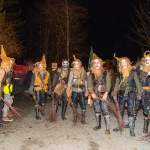 Gruppenfoto Krampus-Pass in Wagrain