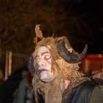 Krampusportrait in Wagrain 2016