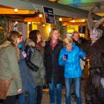 Krampus beim Adventmarkt in Wagrain 2016