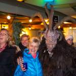 Krampus am Adventmarkt in Wagrain 2016